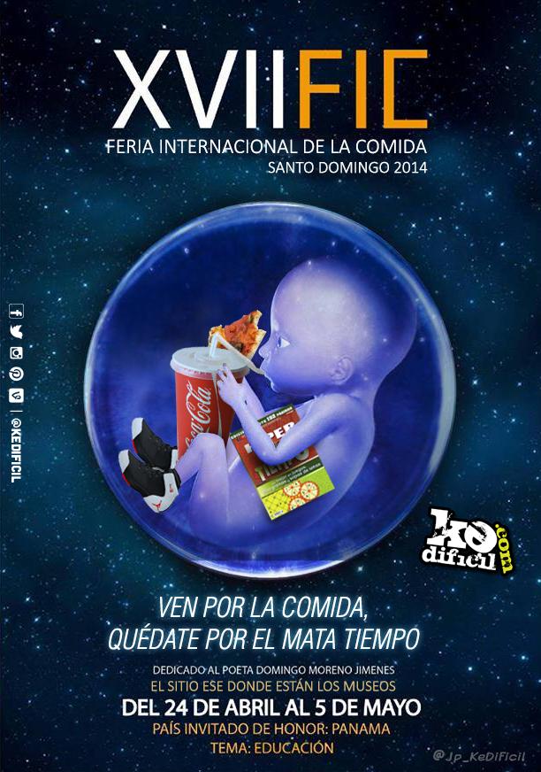 Publicidad realista de la XVII Feria Internacional del Libro