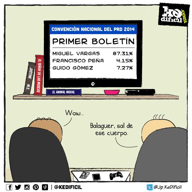 El PRD le hace un Balaguer al PRD.