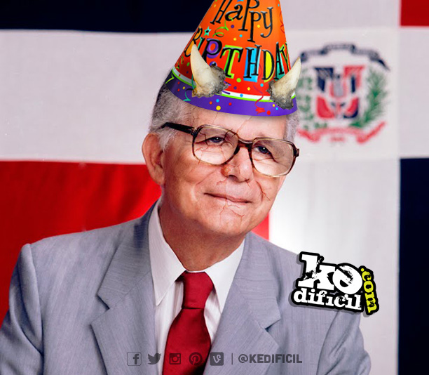Feliz cumpleaños al diab… *cough* Balaguer.