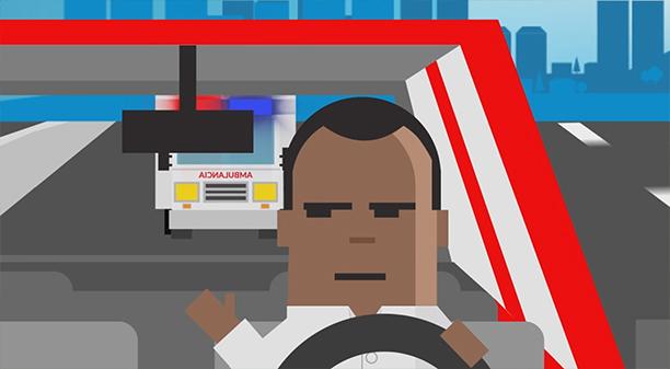 Tus impuestos en acción parte #1: Cediendo paso a la ambulancia