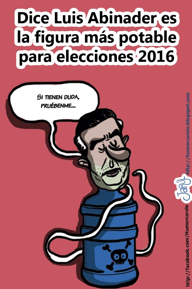 La figura más potable para las elecciones del 2016