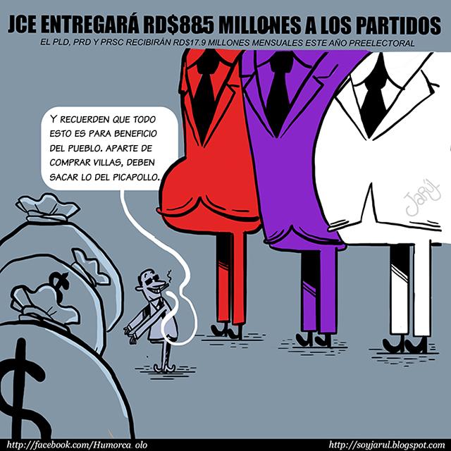 La JCE para beneficio del pueblo…