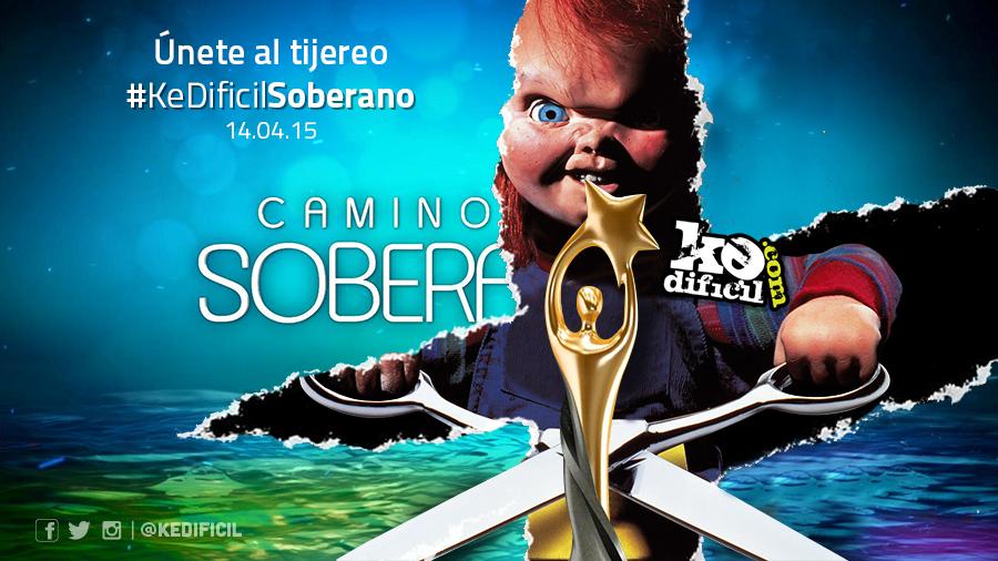 Invitación a la 6ta edición del #KeDificilSoberano
