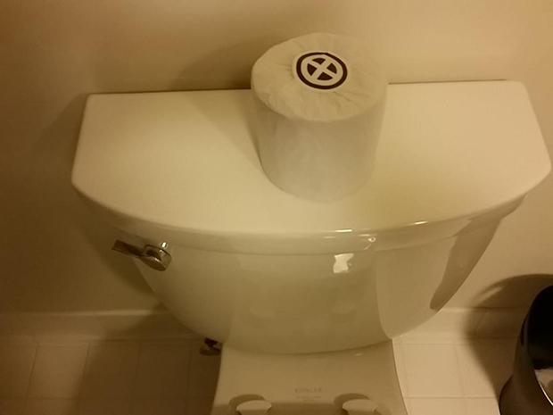 X-Men toilet paper