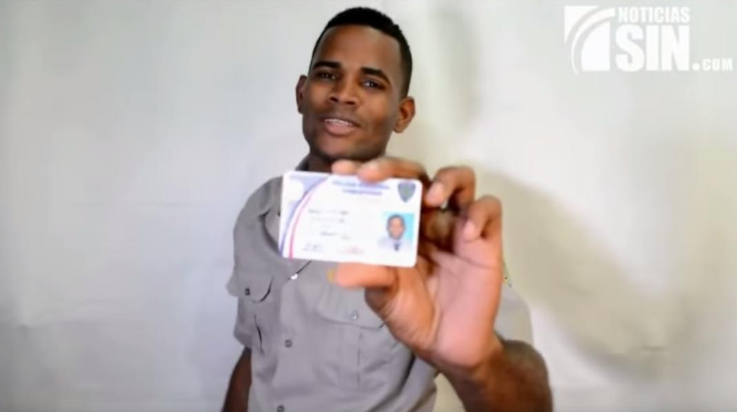 Agente de la Policía Nacional Dominicana habla claro y pela'o