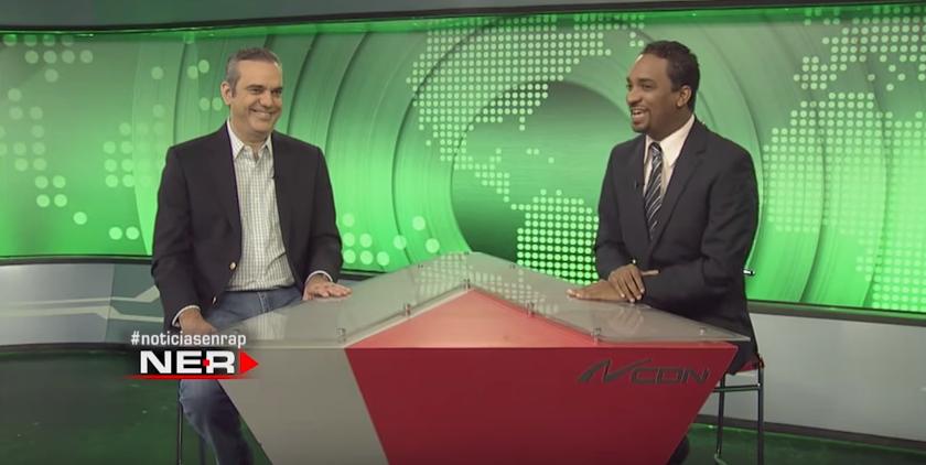 Noticias en Rap con Luis Abinader y Angélica Santos