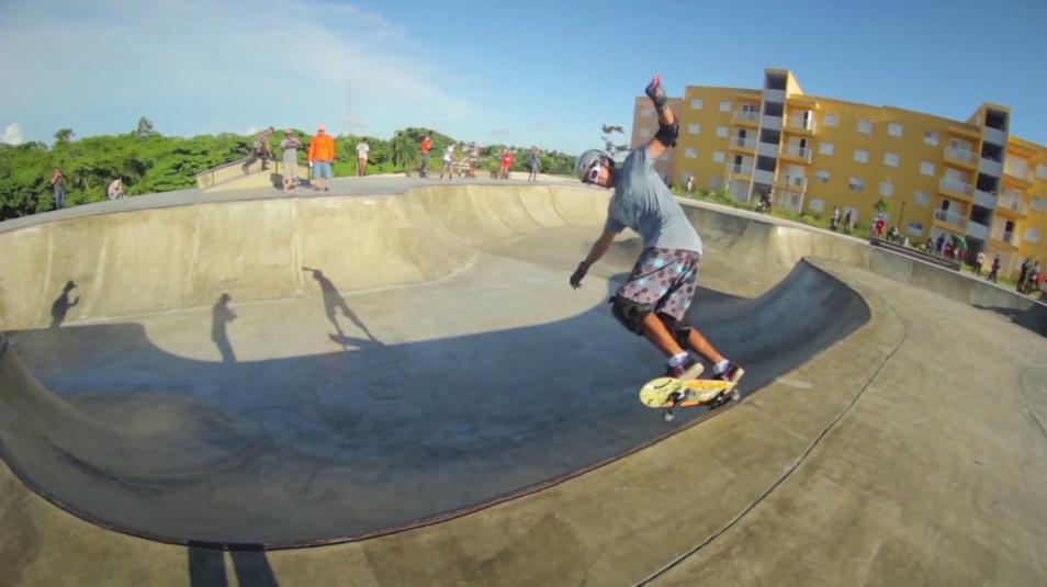 En la Nueva Barquita hay un «skatepark» y quedó aperísimo