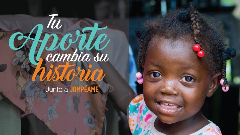 """""""Tu aporte cambia su historia"""" nueva campaña de recaudación a favor de niños y niñas en extrema pobreza"""