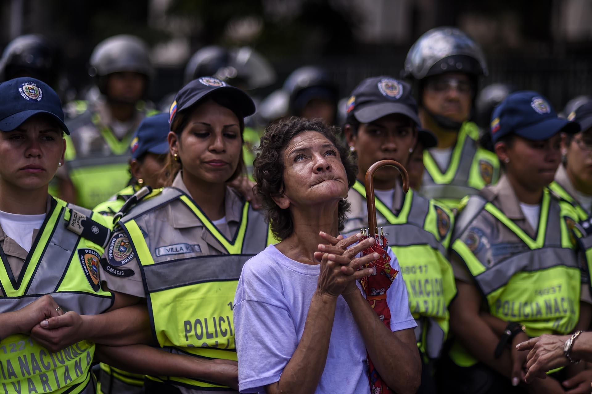 Imágenes de lo que ha estado pasando en Venezuela esta semana