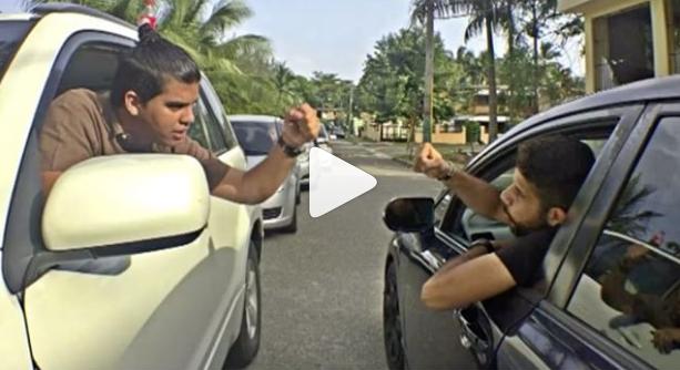 [VIDEO] Vainas que nunca van a hacer los conductores dominicanos