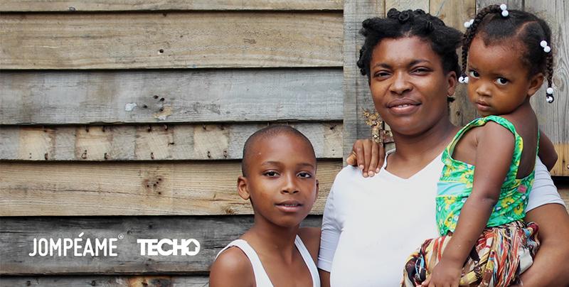 Colecta Digital para TECHO – Karlita, un sueño de madera y zinc