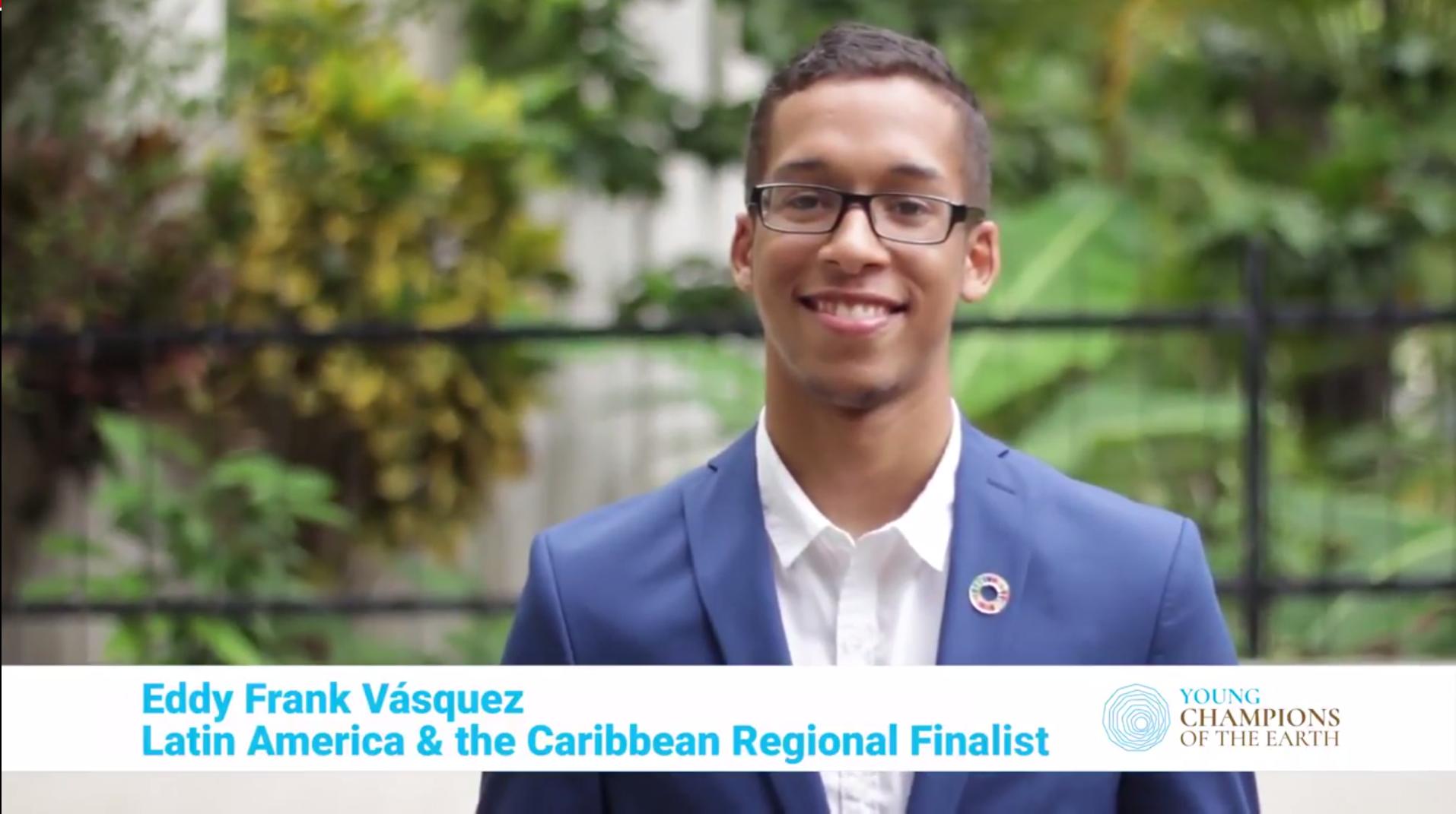 Finalista dominicano en competencia mundial de las Naciones Unidas