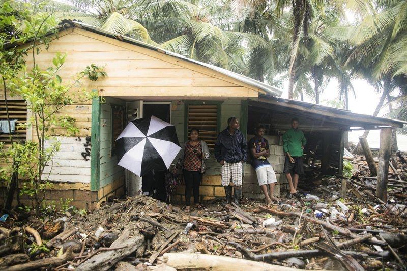 Más de 12,800 personas fueron desplazadas por Irma en la República Dominicana