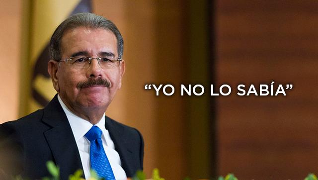 Los agraciados que no debemos olvidar de los recientes decretos de Danilo Medina