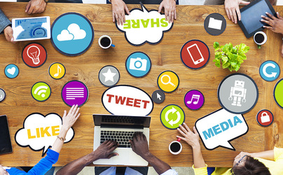 What social media platforms are buyers sellers on