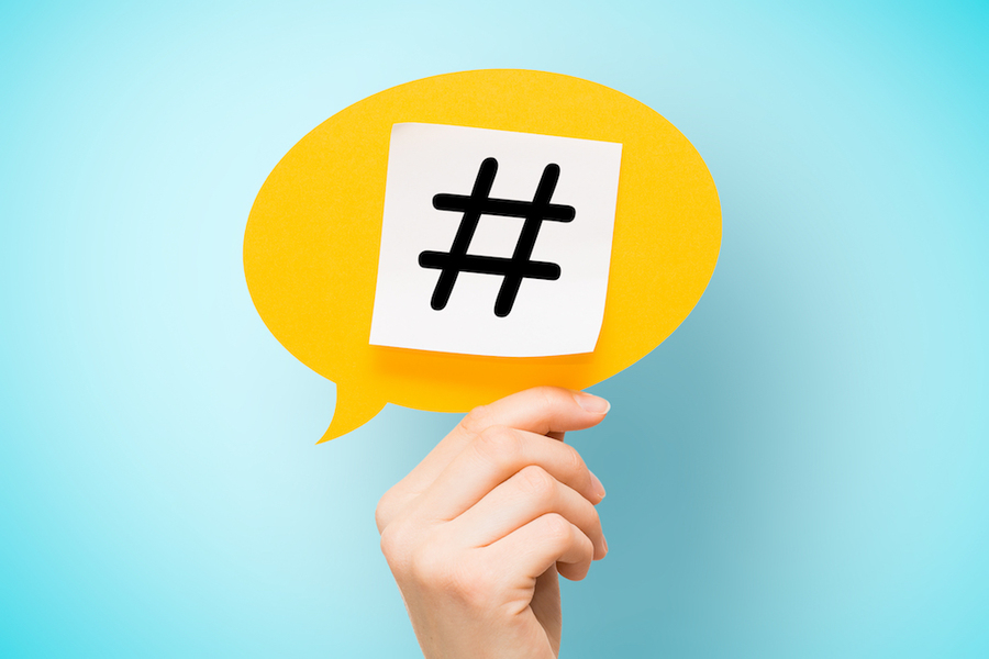 Using hashtags for business