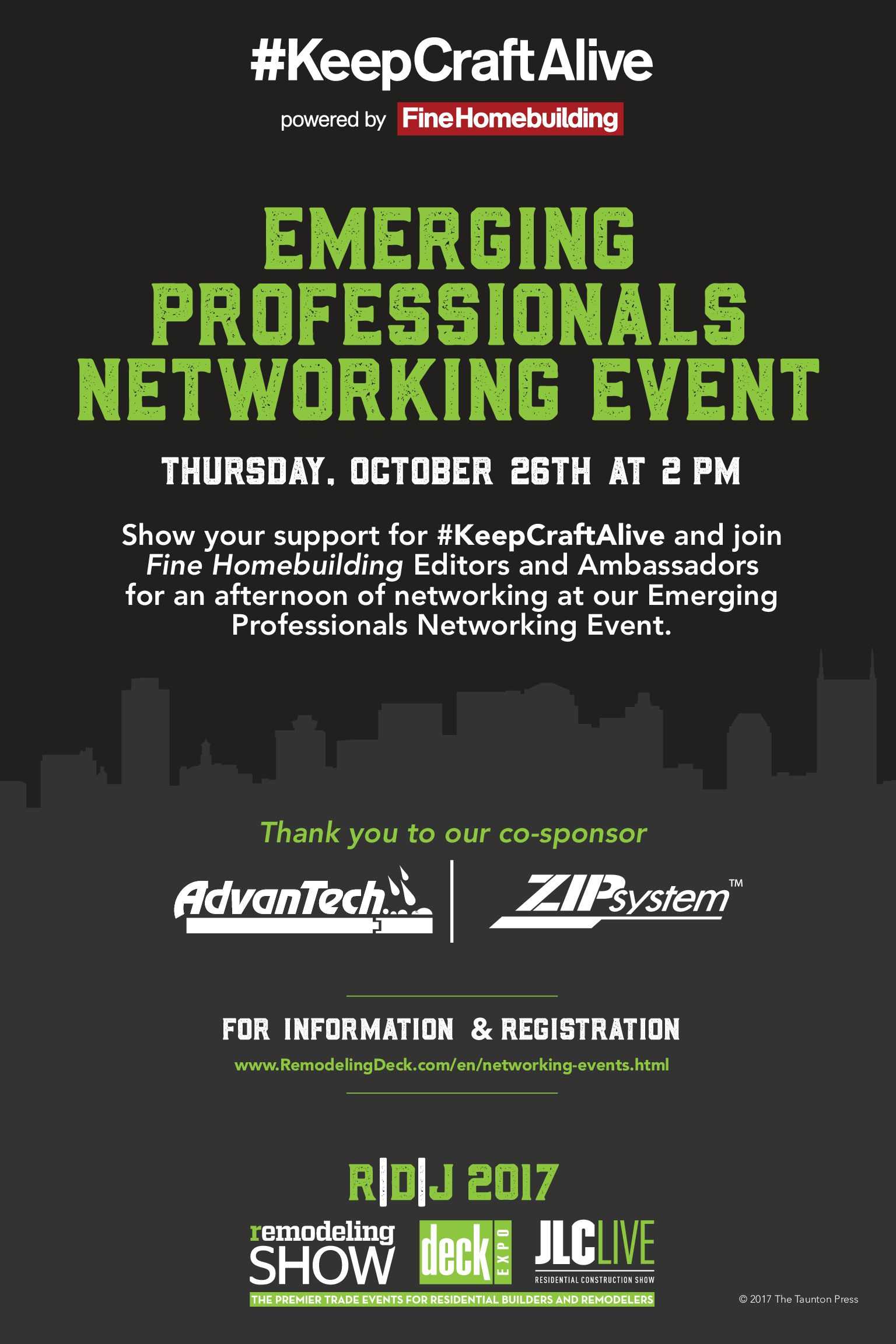 Networking Event at R/D/J, Nashville, TN — (Oct. 26, 2017)