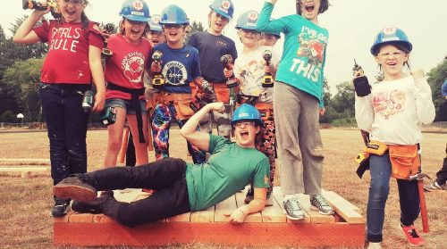 Construction Camp for Girls Teaches Confidence and Independence