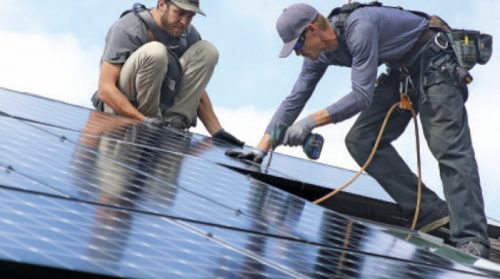 The past, present, and future of solar jobs