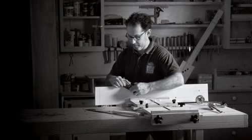 Keep Craft Alive: Mike Schloff, Woodworker and Small-Business Owner