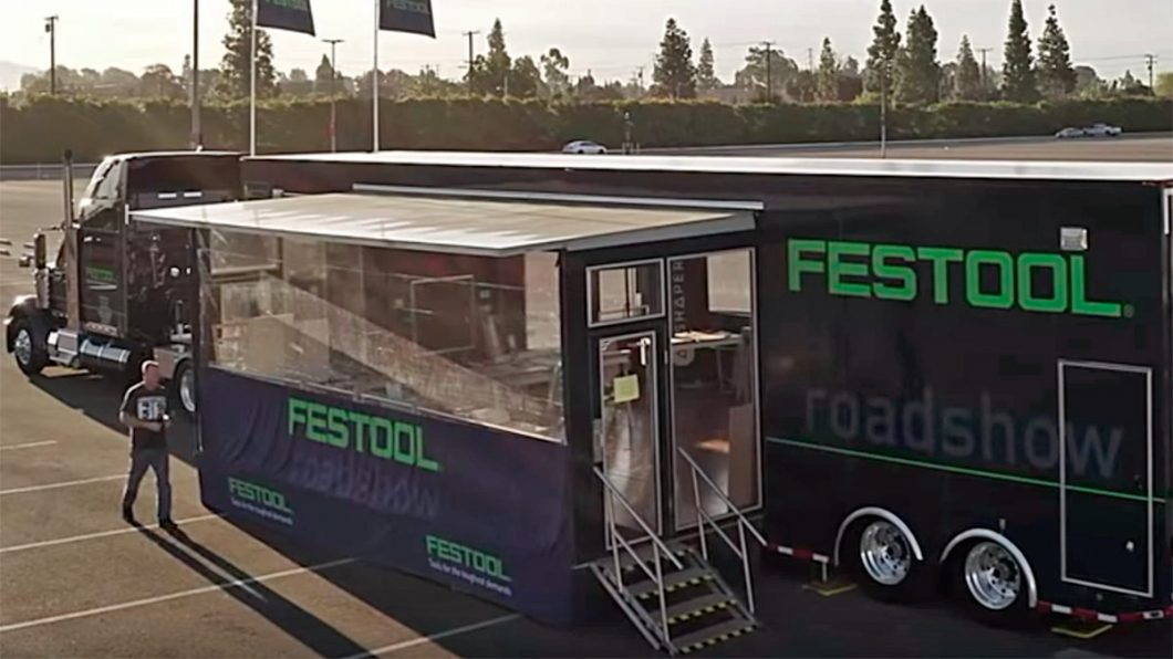 Festool Roadshow Truck