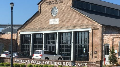 A visit to the American College of the Building Arts