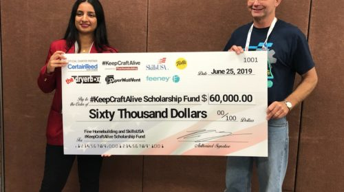 SkillsUSA Celebrates #KeepCraftAlive Scholarship Winners