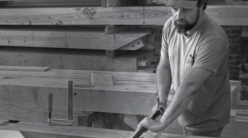 Keep Craft Alive: Bruno Sutter, Professor of Carpentry and Timber Framing