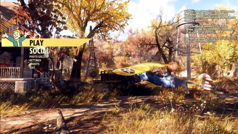 Fallout 76 Beta Review on PC: Day 1 Thoughts Banner Image