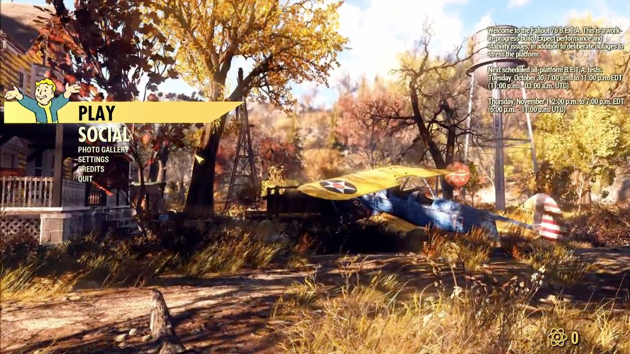 Fallout 76 Beta Review on PC: Day 1 Thoughts   Keiith