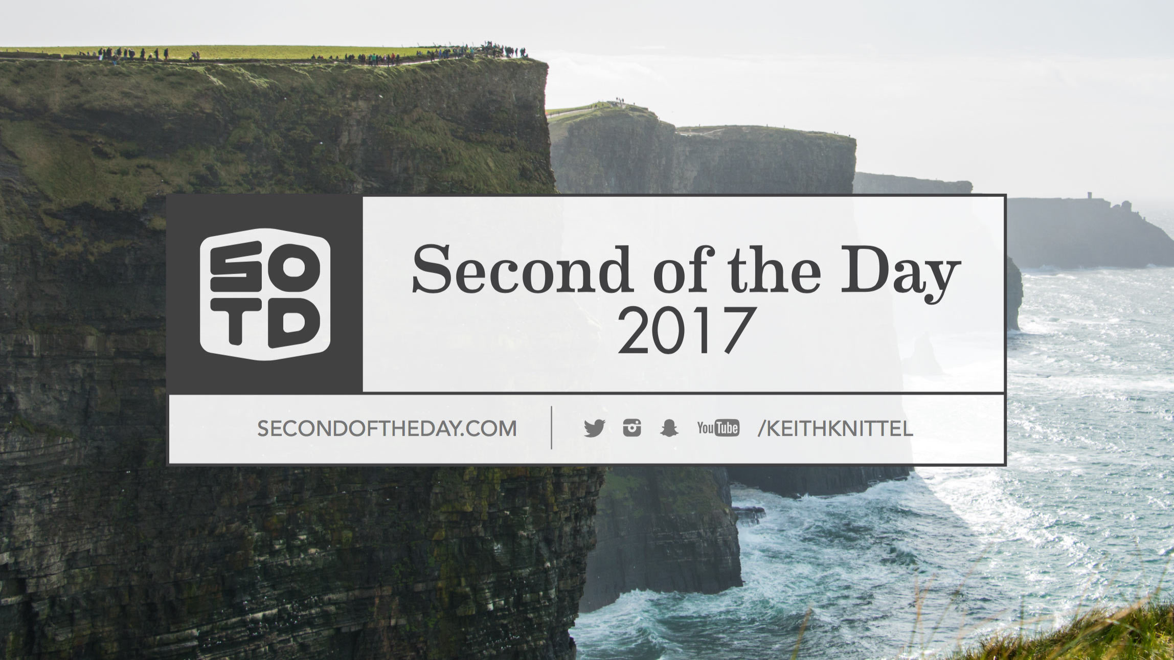 Second of the Day 2017 video posted and website launched