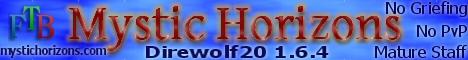 Mystic Horizons Direwolf20 1.7.10   PVE, Whitelist