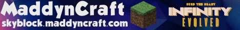 Maddyncraft FTB Infinity Evolved SKYBLOCK