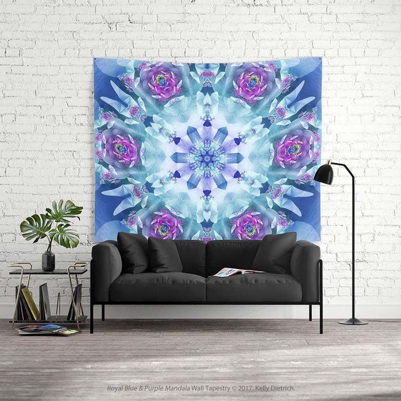 Royal Blue Mandala