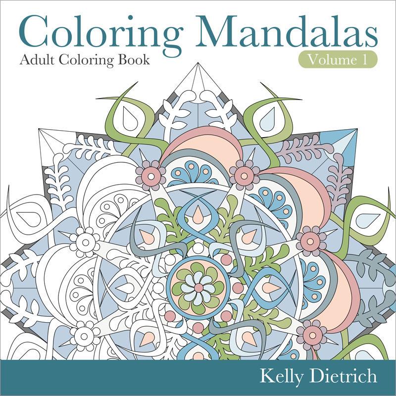 Coloring Mandalas Coloring Book Volume 1