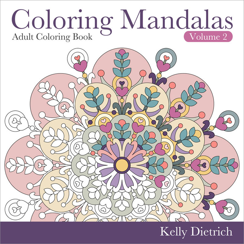 Coloring Mandalas Book Volume 2
