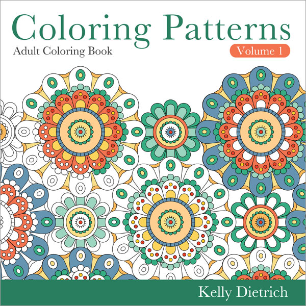 Coloring Patterns Coloring Book Volume 1