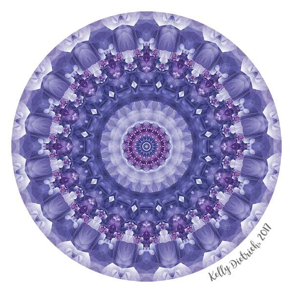 Amethyst Mandala