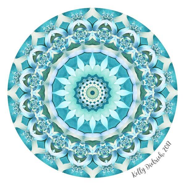 Aquamarine Mandala