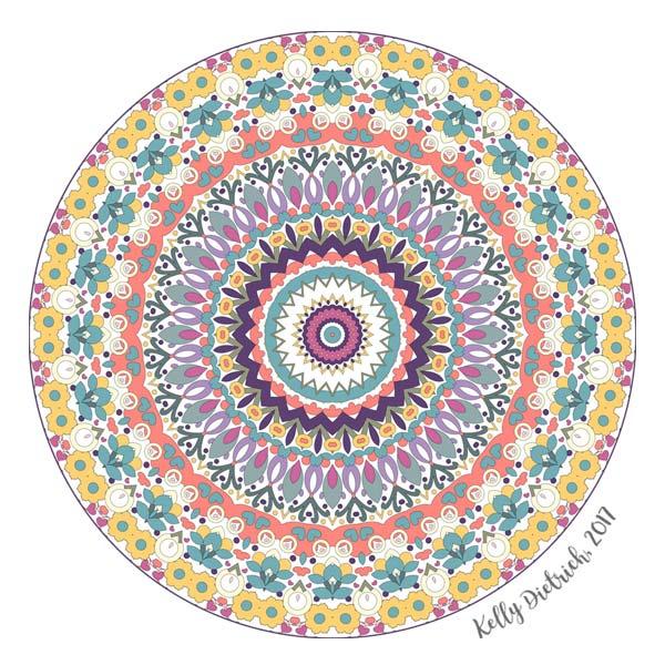 Bloom Mandala