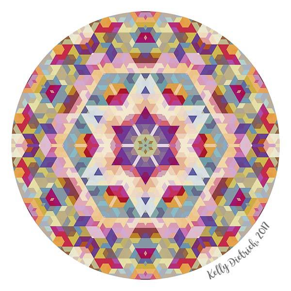 Bright Star Mandala