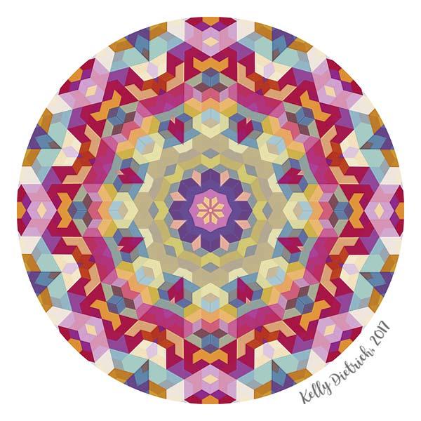 Confetti Mandala