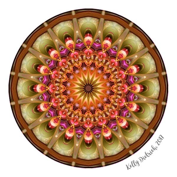 Dreaming in Color Mandala