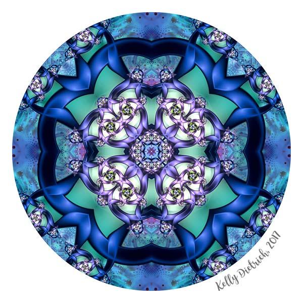 Filigree Flower Mandala