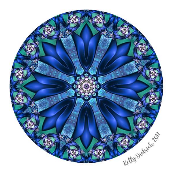 Intertwining Mandala