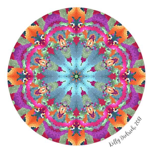 Stained Glass Mandala