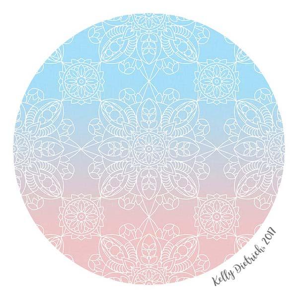 Pastel Dreams Mandala