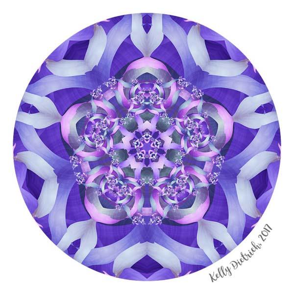 Twisted Pentagram Mandala