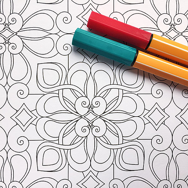 Coloring Patterns Coloring Page