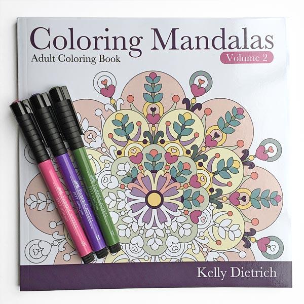 Coloring Mandalas Book Vol. 2